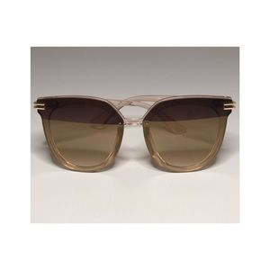 Taupe/Clear Sunglasses with UV400 Protection